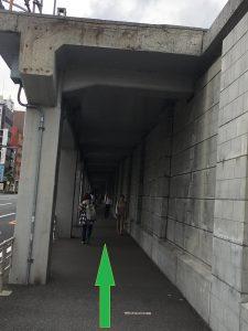 岩亀整骨院桜木町から道順.3jpg